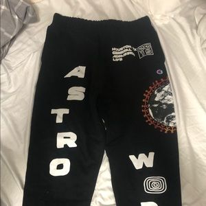 Travis Scott astroworld festival sweatpants